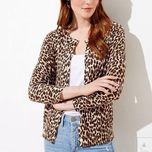NEW Animal Print Cardigan